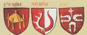 Herby polskich rodów rycerskich z lat 1430-1440