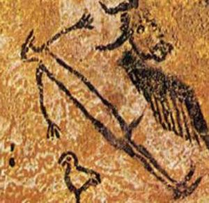 malowidło jaskiniowe z Lascaux